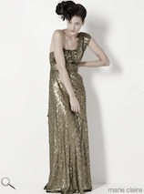 Monsoon Gold Maxi Dress