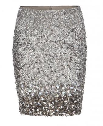 All Saints Glitter Skirt
