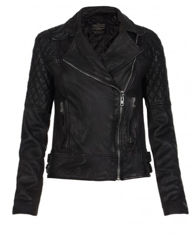 All Saints Leather Biker