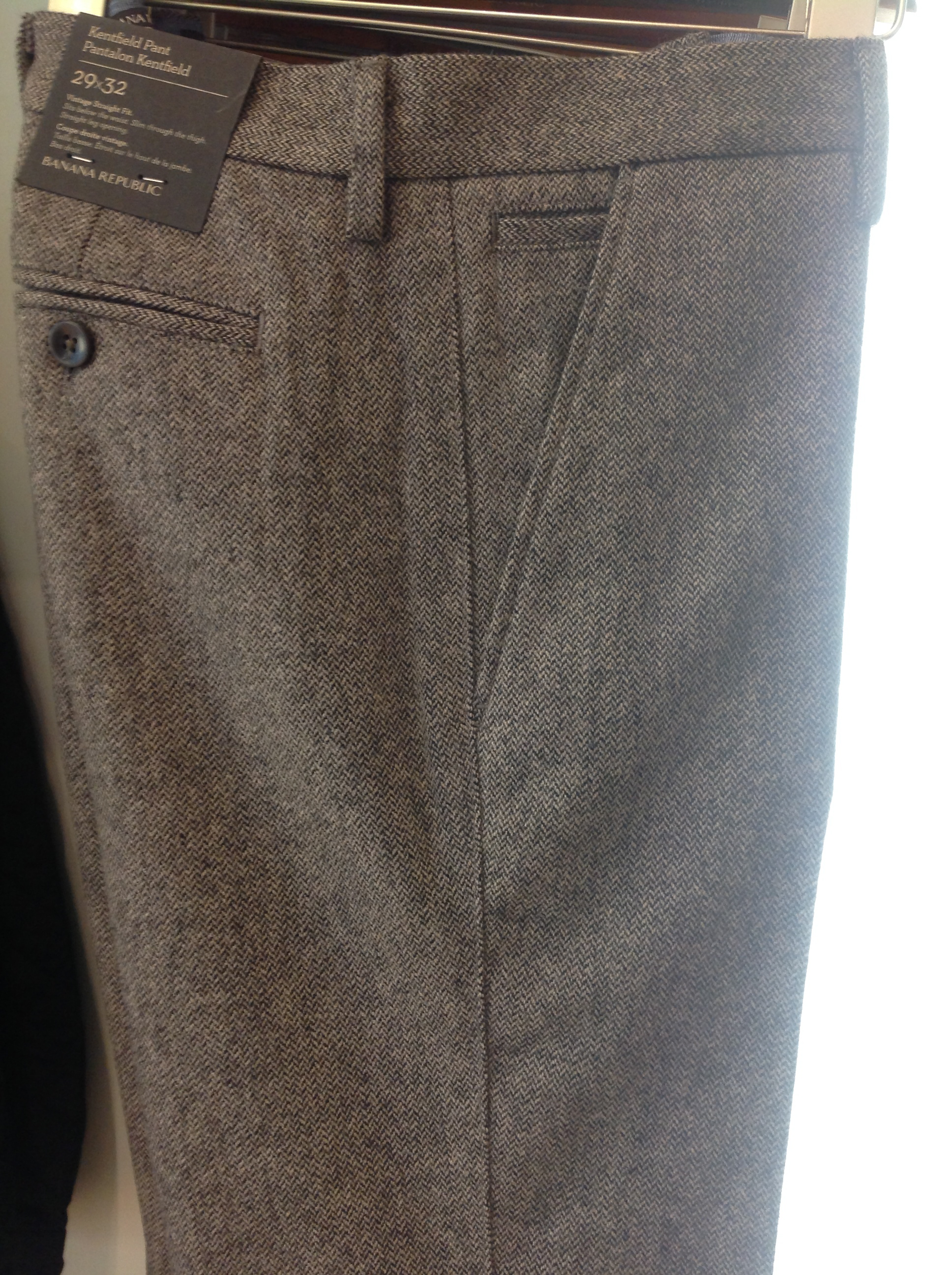 Textured Slim Trouser