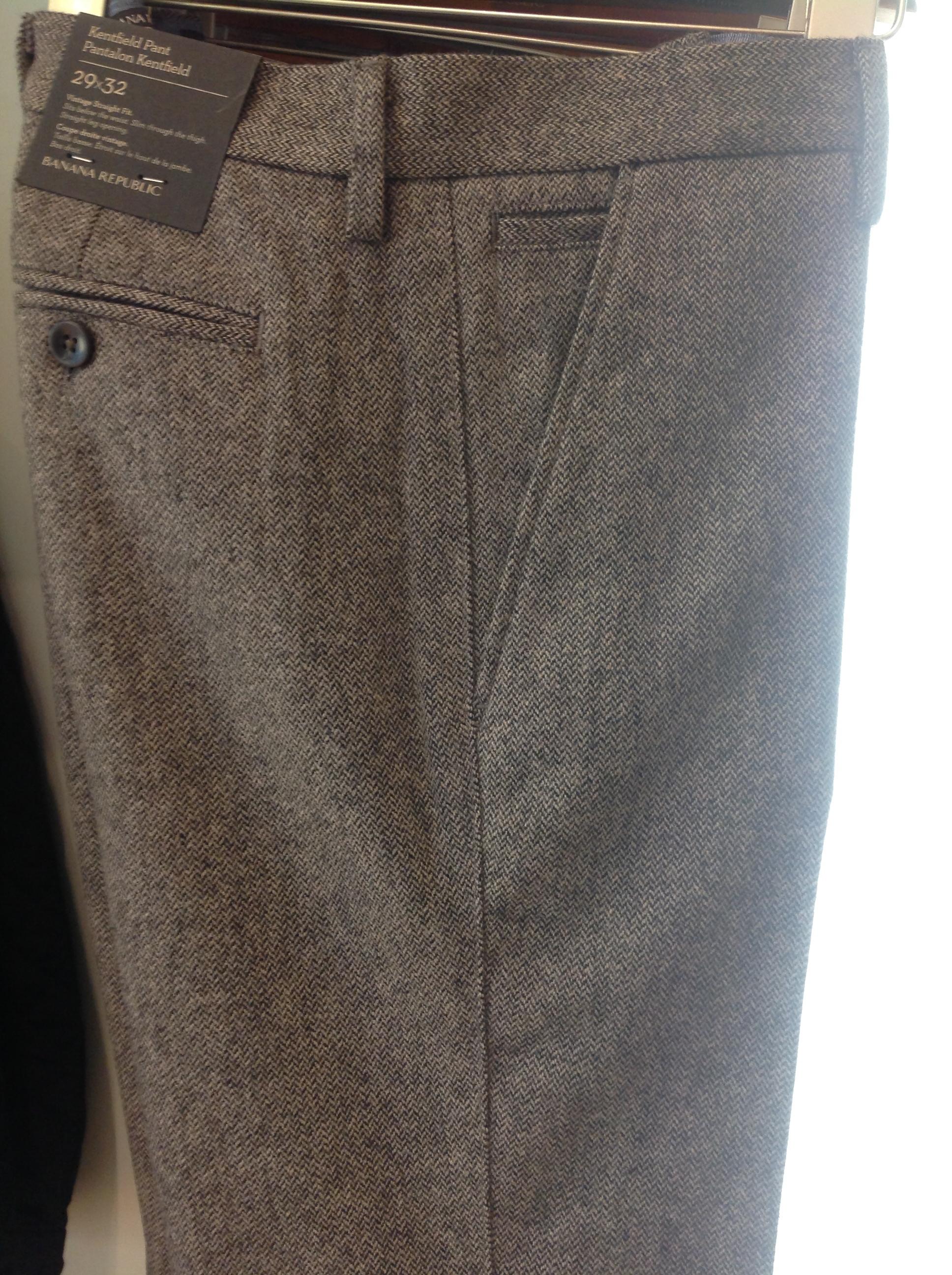 Textured Slim Trouser