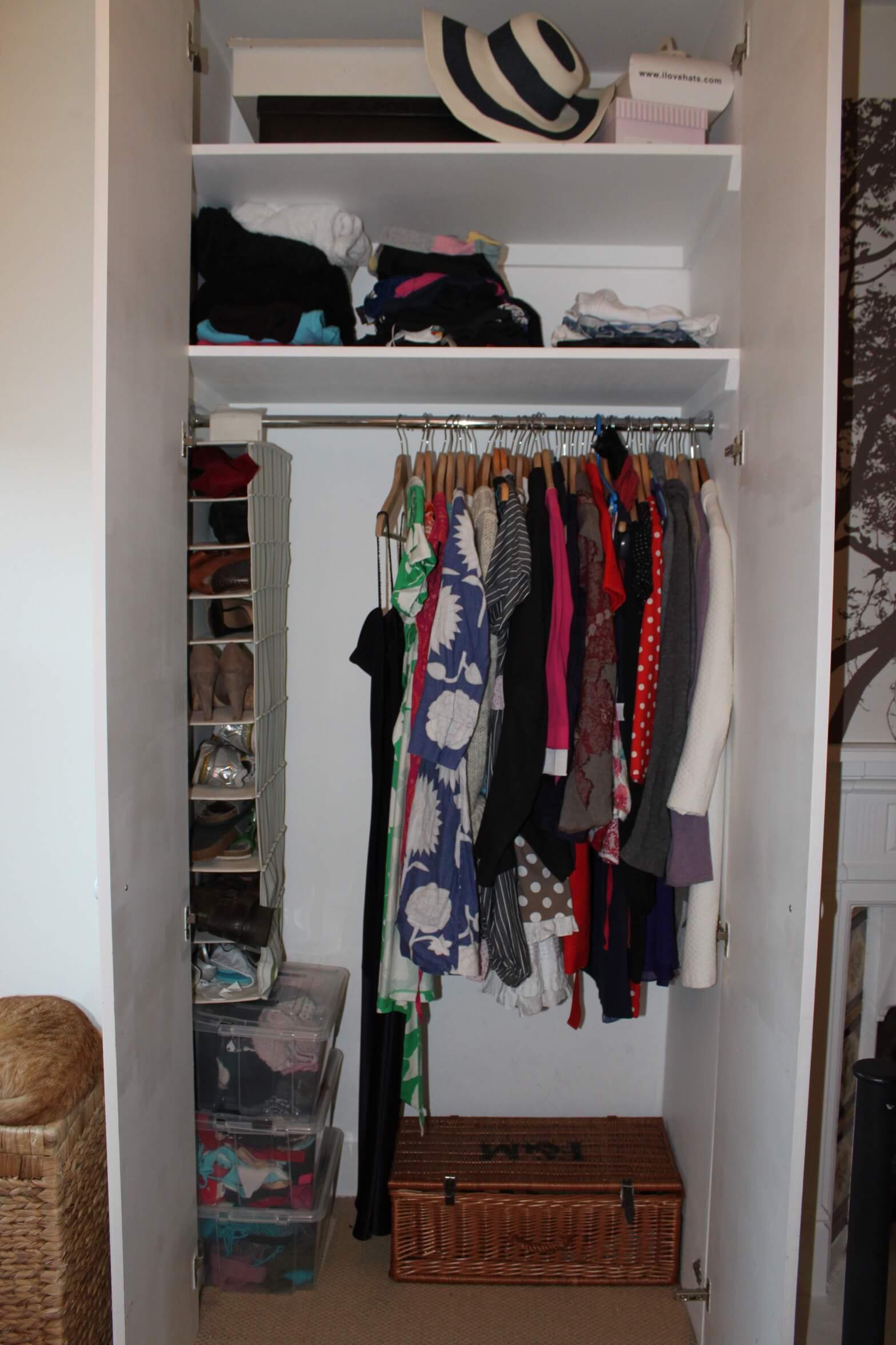 Wardrobe 'After'