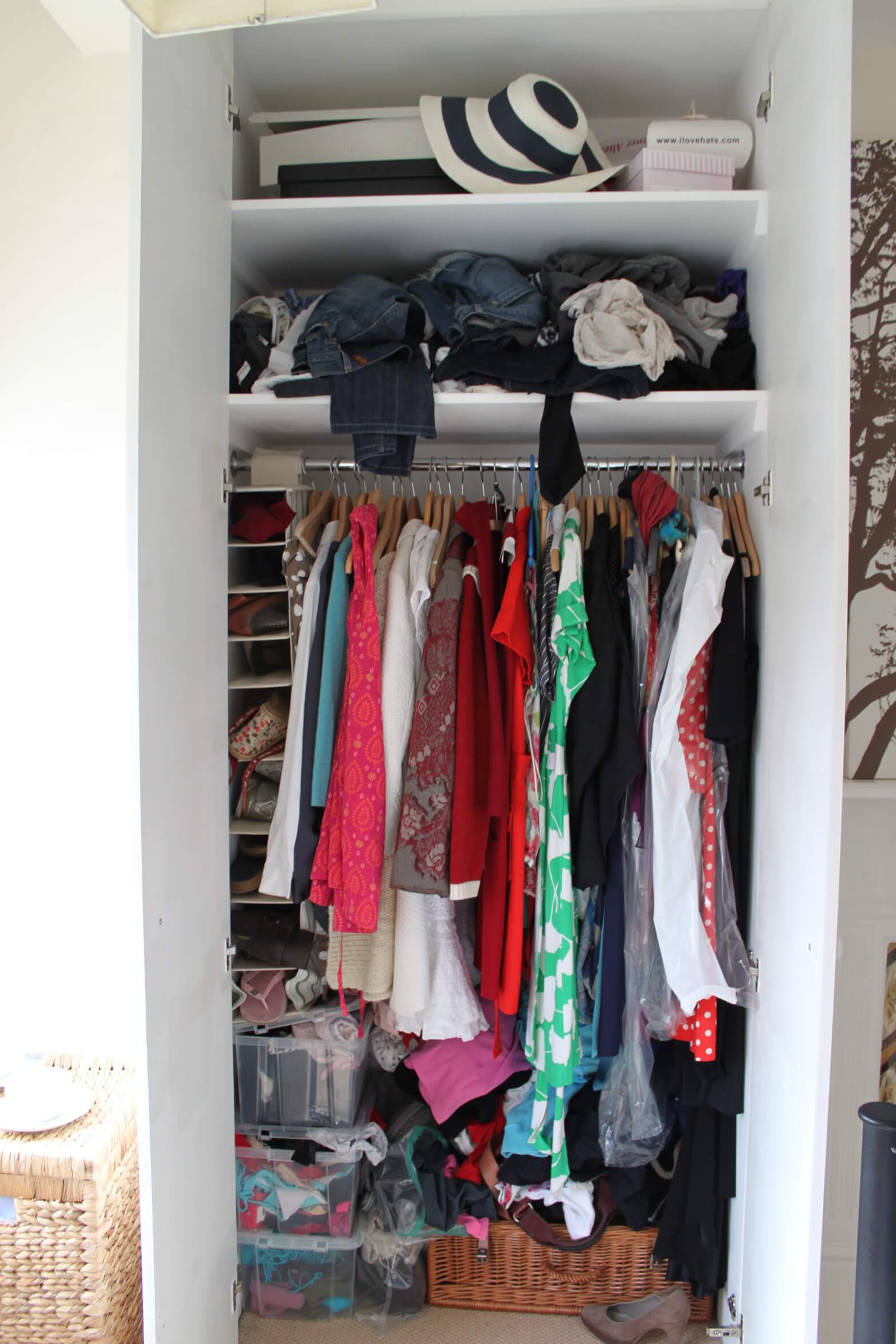 Wardrobe 'Before'