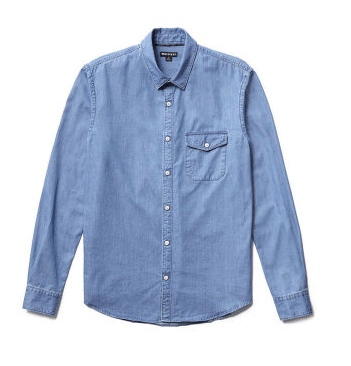 Whistles Light Denim Shirt