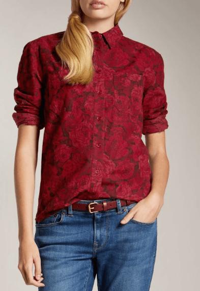 Jack Wills Floral Shirt
