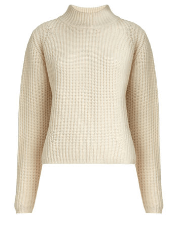 Cream Ribbed Knit