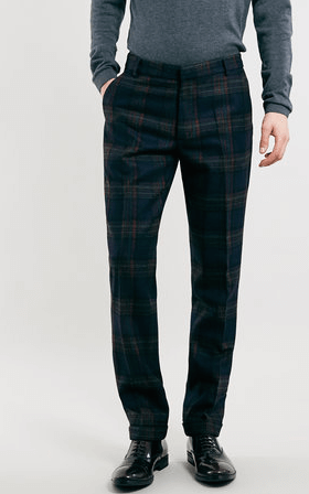 Topman Flannel Trousers