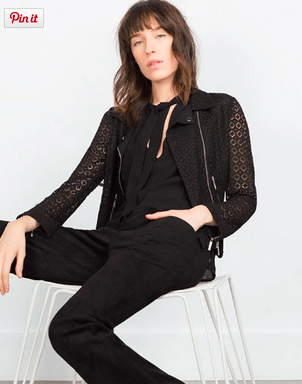 Black Lace Jacket