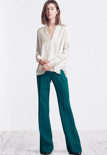 Wide Legged Jigsaw Trousers