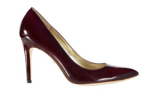 Burgandy Court Shoe