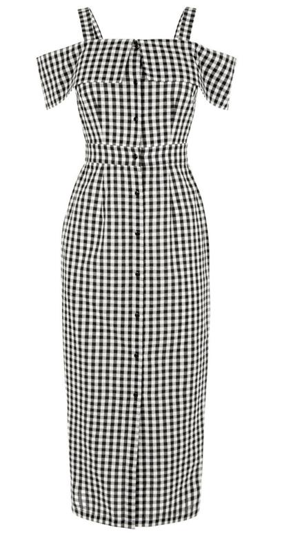 Gingham Warehouse Dress