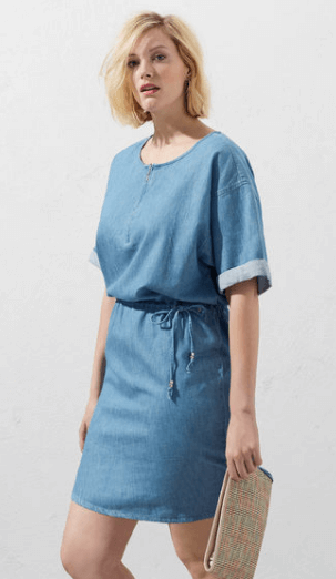 Violetta Denim Dress