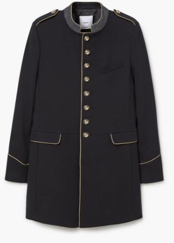 Mango Military Coat