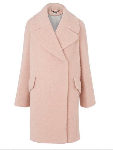 Whistles Pastel Pink Coat