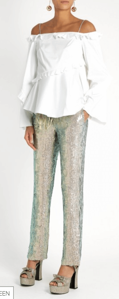 Matches Sequin Trouser