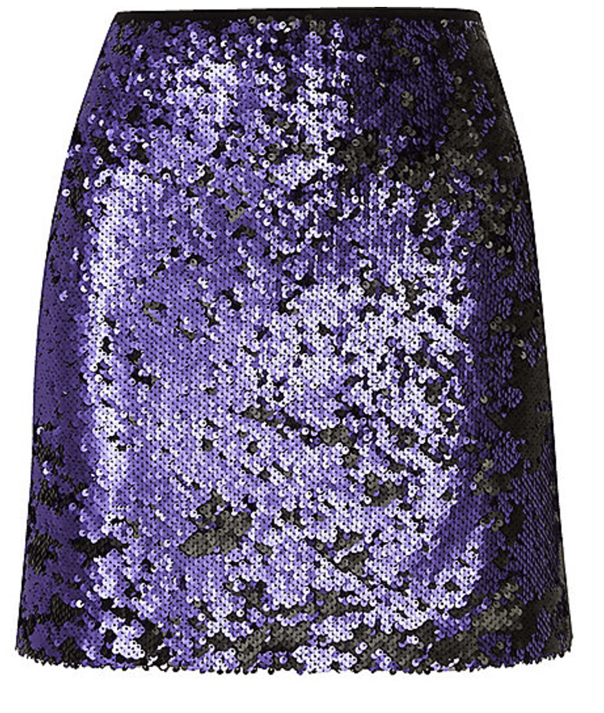 River Island Blue Skirt