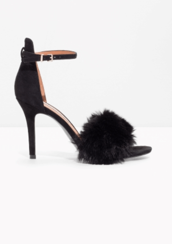 Faux Fur Shoe