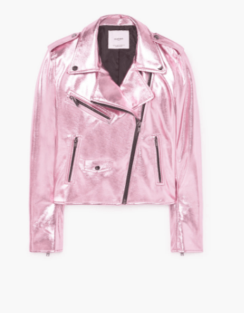 Mango Metallic Jacket
