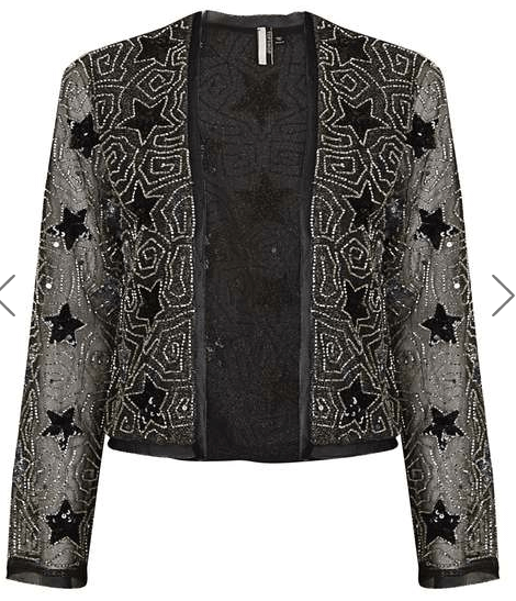Black Sparkle Jacket