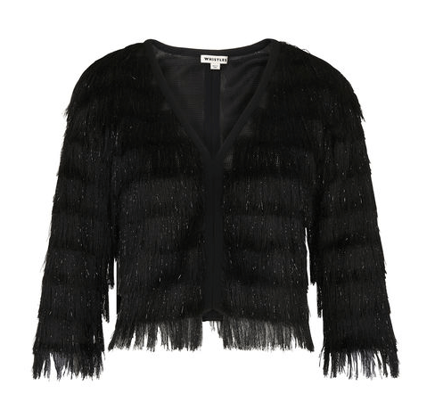 Whistles Fringe Jacket