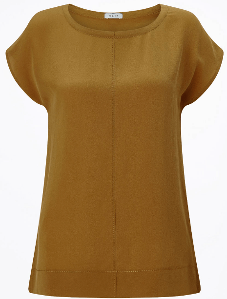 Jigsaw silk top