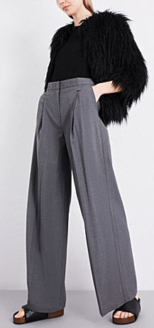 Theory wide legged trousers