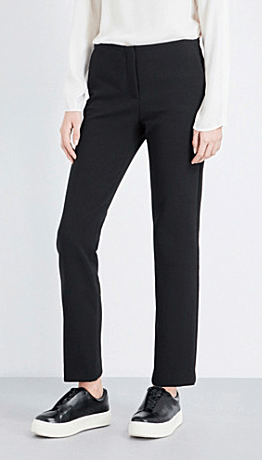 Theory high rise crepe trouser