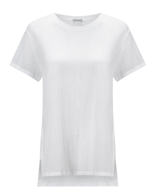 White cotton tee shirt