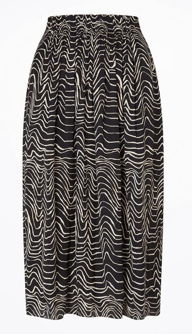 Jigsaw midi skirt