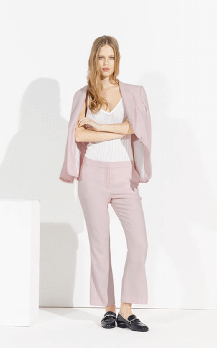 Claudie Pierlot pink suit