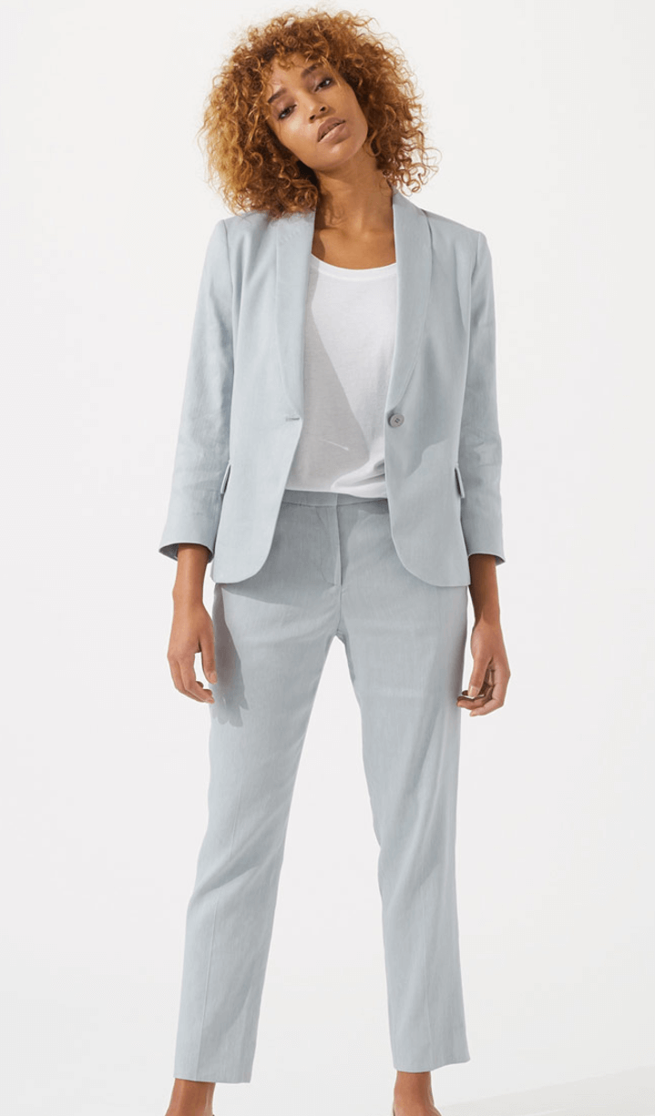 Reiss Ice blue suit