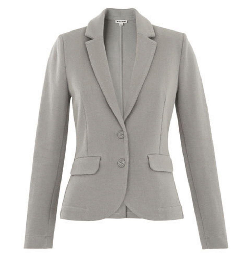 Whistles soft grey jacket