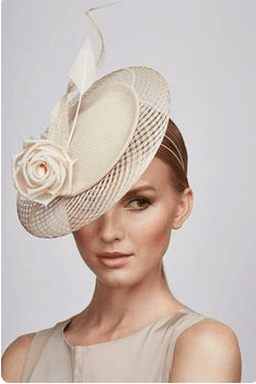 Cream Juliette hat