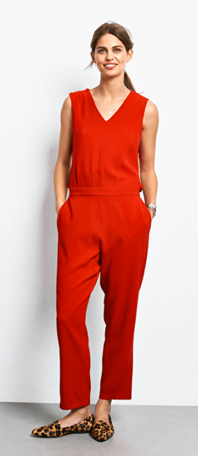 Hush open back jumpsuit