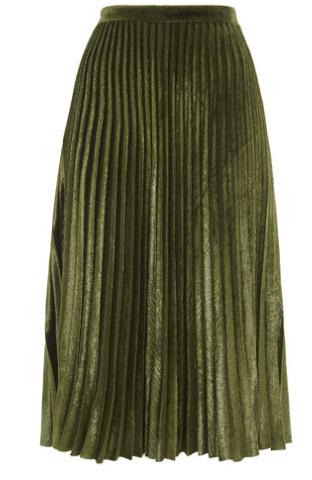 Kitty metallic skirt whistles
