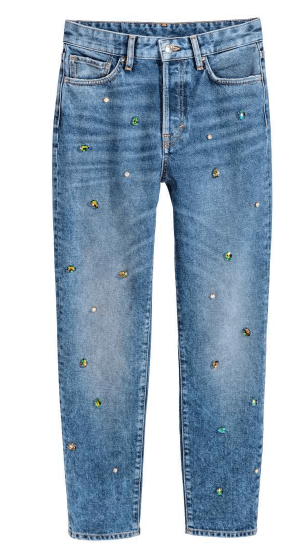 Studded jeans H&M