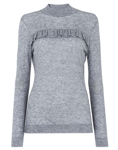 Grey thin knit