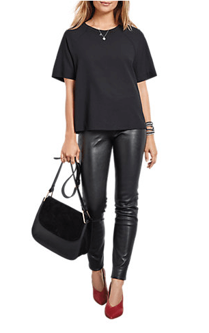 Hush leather leggings