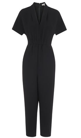 Whistles relaxed black jumpsuit