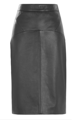 Leather pencil skirt | Whistles