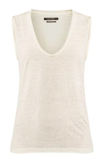 Simple white tee shirt | Isabel Marant