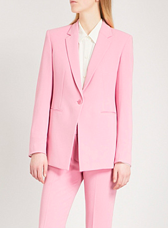 'power jacket' in pastel pink | Theory