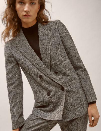Check blazer | Massimo Dutti
