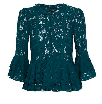 Marisa Webb lace blouse | discounted on The Outnet