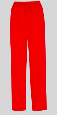 Wide legged red trousers - Whistles. These are amazing, a total head turner, good with a light knit, silk top or blazer when a bit chilly.