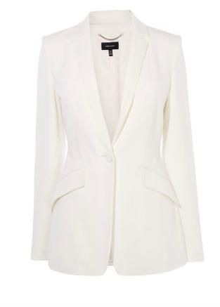 Ivory blazer, goes with everything - Karen Millen