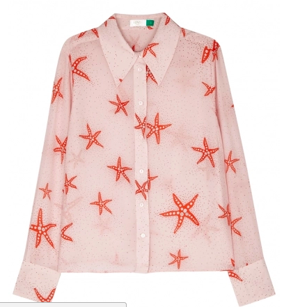Rixo London silk shirt - Harvey Nichols