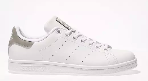 Classic Stan Smith white trainers