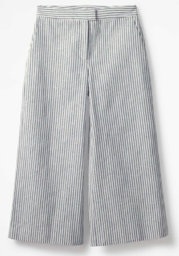 Striped culotte |Boden