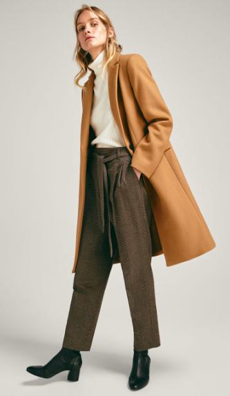 Massimo Dutti - gorgeous camel coat